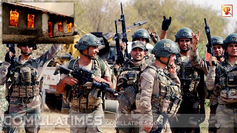 আগদামে গণহারে আগুন দিচ্ছে আর্মেনীয় সেনাবাহিনী